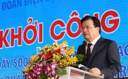 Khởi công xây dựng đường dây 500 kV từ Vũng Áng đến Pleiku