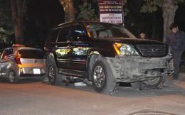 """Đại tá CSGT nói vụ xe Lexus đâm liên hoàn ở phố Trích Sài """"có dấu hiệu của một tội phạm"""""""