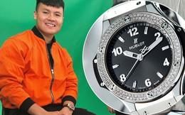 """Trước thì giản dị hết sức, giờ Quang Hải đã mạnh tay """"lên đồ"""" với đồng hồ 300 triệu và giày hiệu đắt đỏ rồi"""