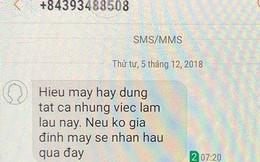 """Phó bí thư huyện bị nhắn tin đe dọa vì chống tiêu cực: """"Tôi không sợ vì mình làm việc chính trực"""""""
