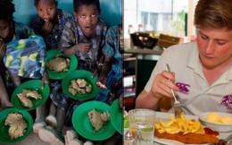 Bữa trưa của học sinh toàn thế giới: Nơi sang chảnh như khách sạn, nơi nghèo đói phải ăn đồ cứu trợ