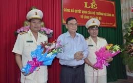 Bến Tre, Tây Ninh bổ nhiệm Phó Giám đốc Công an tỉnh