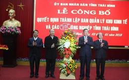 Thành lập Ban quản lý khu kinh tế và các khu công nghiệp tỉnh Thái Bình