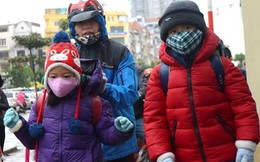 Sau nghỉ Tết Dương lịch, học sinh tiếp tục nghỉ học do rét đậm