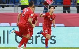 Trận đầu tiên trong vòng 1/8 Asian Cup 2019, Việt Nam giành vé đi tiếp sau loạt đá luân lưu đầy gay cấn