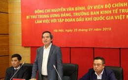 Ông Nguyễn Văn Bình: Cần có quy định pháp luật rõ ràng để cán bộ dầu khí yên tâm công tác