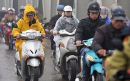 Không khí lạnh gây mưa dông diện rộng ở Bắc Bộ