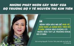 Những phát ngôn 'dậy sóng' của Bộ trưởng Y tế Nguyễn Thị Kim Tiến