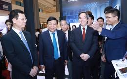 Trưởng ban Kinh tế Trung ương dành mối quan tâm lớn tới các giải pháp chuyển đổi số quốc tế tại Industry 4.0 Summit