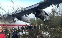 Máy bay vận tải rơi vì hết xăng ở Ukraine, nhiều người tử nạn