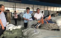 Nhập cả container quần áo Trung Quốc giả mạo xuất xứ Việt Nam và Hàn Quốc