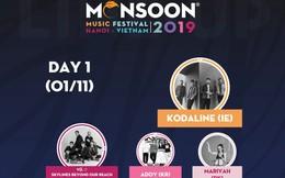 """Đêm nay, người hâm mộ lễ hội âm nhạc quốc tế Monsoon sẽ """"đón gió mùa về"""""""
