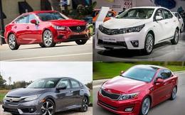 """Điểm danh các mẫu sedan cũ """"cực chất"""" trong tầm giá 600 triệu đồng"""