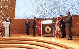 Chủ tịch FLC đánh cồng mở màn phiên giao dịch 20 năm thành lập Sàn Chứng khoán Singapore