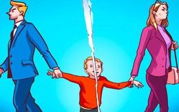 """Cha mẹ bất hòa """"đầu độc"""" tính cách của con cái: Đừng để chuyện người lớn biến cuộc sống của trẻ thành bi kịch"""