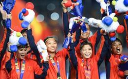 Honda tặng thưởng xe Lead và Winner X cho đội tuyển bóng đá Việt Nam vừa vô địch SEA Games 30