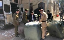 Thu giữ 1.900 lọ sơn móng tay do Trung Quốc sản xuất không có hóa đơn, chứng từ