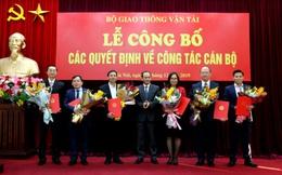 Bộ GTVT điều động và bổ nhiệm nhiều lãnh đạo chủ chốt
