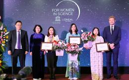 Trao học bổng cho 3 nhà khoa học nữ xuất sắc Việt Nam 2019