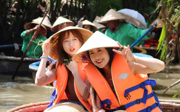 """""""Thờ ơ"""" với du lịch Nhật, khách Hàn đổ về Việt Nam"""