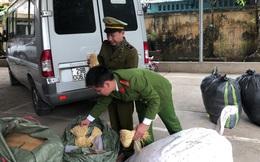 Thu giữ gần 500kg thuốc bắc không rõ nguồn gốc xuất xứ tại Lạng Sơn