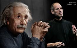 Nếu con nghịch ngợm, kém cỏi hay lười biếng, đừng vội tuyệt vọng bởi chính Albert Einstein và Steve Jobs cũng từng như thế