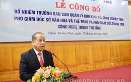 Thừa Thiên Huế bổ nhiệm nhiều loạt lãnh đạo chủ chốt