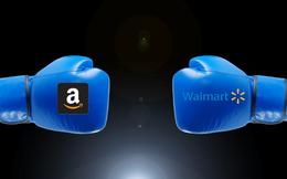 """Amazon sẽ không """"giết""""nổi Walmart trên đấu trường trực tuyến?"""