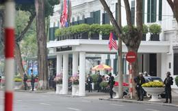 Lực lượng an ninh Việt Nam dày đặc bảo vệ khách sạn Metropole - địa điểm tổ chức thượng đỉnh Mỹ-Triều