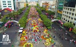 Chào đón ngày đầu năm Kỷ Hợi, người Sài Gòn háo hức đến đường hoa Nguyễn Huệ