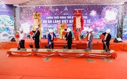 Việt Anh JSC động thổ xây dựng khu biệt thự dự án Làng Việt kiều quốc tế tại Hải Phòng