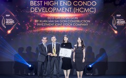 Eco Green Sài Gòn thắng lớn tại PropertyGuru Vietnam Awards 2019