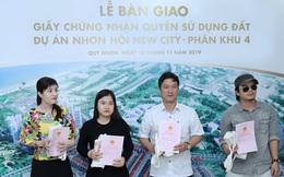 Sớm bàn giao giấy chứng nhận quyền sử dụng đất, Nhơn Hội New City hấp dẫn nhà đầu tư