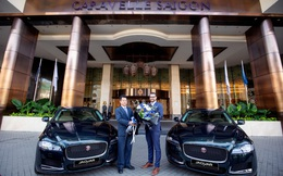 Caravelle Saigon chính thức tiếp nhận lô xe cao cấp Jaguar XF Prestige