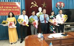 Đồng Nai luân chuyển, bổ nhiệm hàng loạt Phó Giám đốc Sở