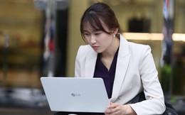 Nhìn lại hình ảnh những phóng viên xinh đẹp tác nghiệp tại Hội nghị Thượng đỉnh Mỹ - Triều