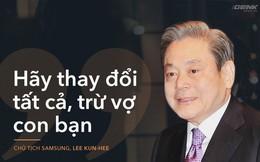 """3 câu chuyện quản trị tuyệt vời của chủ tịch Samsung Lee Kun Hee: Từ một DN kém xa Sony """"ngay cả radio cũng không sản xuất được"""", 10 năm sau trở thành tập đoàn tầm cỡ thế giới"""