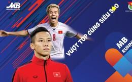 """Quế Ngọc Hải và Văn Toàn là đại sứ cho giải chạy """"MB Running Up 2019 - Vượt Top cùng siêu sao"""""""