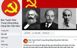 """Facebook """"trảm"""" tài khoản mạo danh Ban Tuyên giáo Trung ương"""