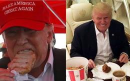 """Ngạc nhiên với thói quen ăn uống kỳ lạ của Tổng thống Donald Trump: """"Phản khoa học"""" nhưng vẫn đủ để giữ được phong độ sức khỏe, thậm chí có thể sống tới 200 tuổi"""