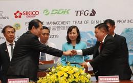 3 doanh nghiệp Đài Loan đầu tư nhà máy dệt nhuộm ở Bình Phước