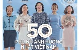 Forbes công bố danh sách 50 phụ nữ Ảnh hưởng nhất Việt Nam trên nhiều lĩnh vực như chính trị, kinh doanh, xã hội