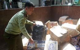 Vừa tiêu hủy hơn 10.000 sản phẩm hàng hóa nhập lậu