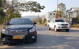 Gần 100 xe ôtô biển số vàng LB chưa chuyển đổi sang biển số trắng
