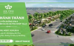 Tập đoàn Nam Cường tổ chức Lễ Khánh thành tuyến đường 27m và trải nghiệm dự án An Phú Shop-villa