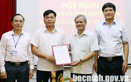 Bắc Ninh điều động, bổ nhiệm nhân sự chủ chốt