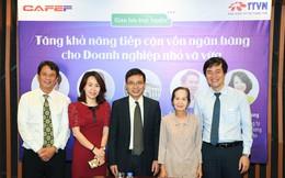 Chuyên gia Phạm Chi Lan, lãnh đạo NHNN, CEO ABBank và doanh nghiệp cùng bàn cách tăng khả năng tiếp cận vốn ngân hàng cho doanh nghiệp SME