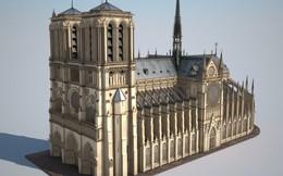Đồ họa 3D: Chuông báo cháy kêu khi chưa có ngọn lửa, đây là lý do lính cứu hỏa không thể cứu phần mái Nhà thờ Đức Bà Paris