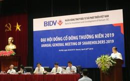 ĐHĐCĐ BIDV: Điều chỉnh mục tiêu lợi nhuận xuống 10.300 tỷ, chưa có phương án chia cổ tức