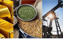 Thị trường ngày 12/7: Giá dầu, vàng đảo chiều đi xuống, nông sản đồng loạt tăng